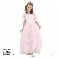 Dětský karnevalový kostým RŮŽENKA 110 - 120cm ( 4 - 6 let )